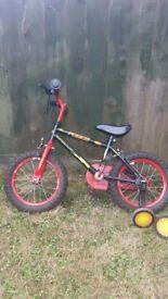"""Boys bike 14"""""""
