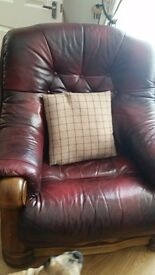 Leathee sofas