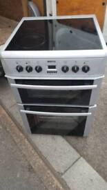 Beko free standing cooker/free delivery/serviced