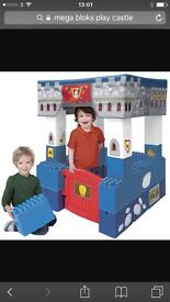 Mega blocks play castle. Perfect for christmas