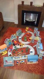 Bundle of used fireman toys