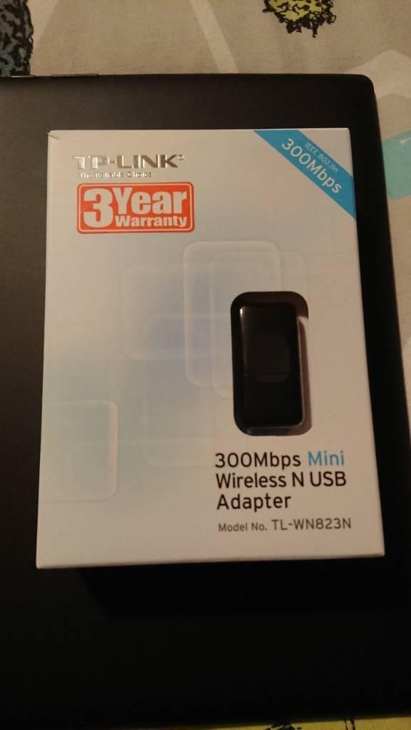 TP-link wireless USB adapter | in Cramlington, Northumberland | Gumtree