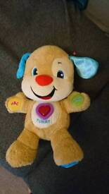 Fisher price laugh and learn teddy