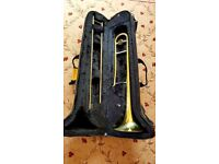 BACH PRELUDE Bb TENOR TROMBONE, NEWLY SERVICED, SUITS BEGINNERS TO INTERMEDIATES.