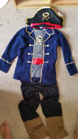 Pirate dressing up outfit age 8-10 years