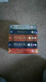 BBC's Merlin, 5 series DVD boxsets