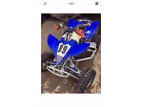 Yamaha YFZ450 Race Quad (p/ex considered)