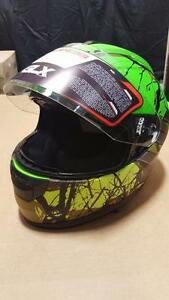 GLX medium large x-large casque de moto - motorcycle helmet .............tel 514-316-8326