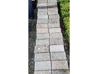 407 pre used blocks pinky grey colour 100x200mm clean