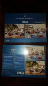 Gibsons Jigsaws 'Polperro & Mevagissey' and 'The Greengrocers' All 3 x 500 pcs