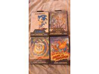 4 Sega mega drive games
