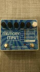 Ehx Memory man w/HAZARI digital delay.
