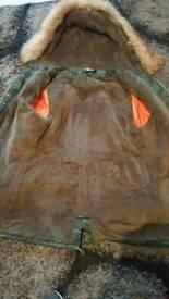 Womens camaflouge coat