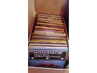 Box of vinyl albums 100 plus all 50s to 80s