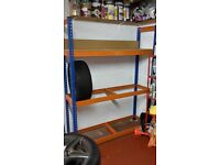 Heavy Duty Tyre rack and Shelving unit