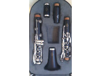 Buffet E12F Clarinet - Hardly Used, Excellent Condition.