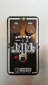 Pédale Electro-Harmonix Pocket Metal Muff!!!