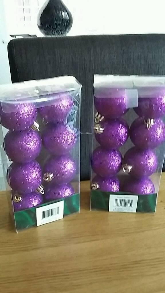 Purple decs
