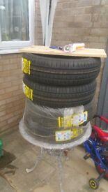 4 x brand new tyres 175/65/14