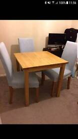 Table (chairs not included)