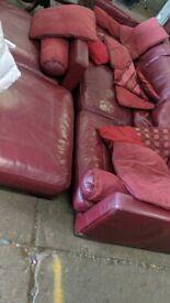 Butifull leather sofa