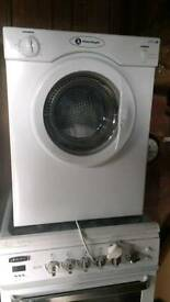 White Knight tumble dryer small