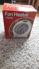 Home Comforts 2000W Fan Heater