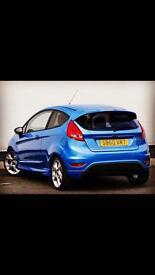 Ford Fiesta Zetec S Blue