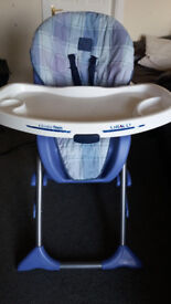 Large Adjustable High Chair