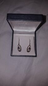 Rennie MacKintosh Silver Earrings