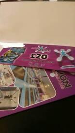 £20 Jumpnation Gift Voucher