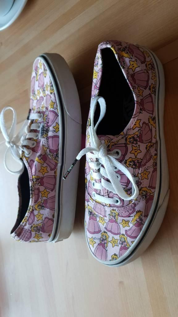 7fb97274db0d1a Vans Authentic Nintendo Princess Peach - Girl Shoes