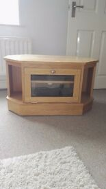 LIGHT OAK TV UNIT