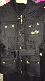 Girls Barbour jacket -size large (7-10 yrs)
