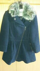 Brand new girl's woollen jacket/coat age 8
