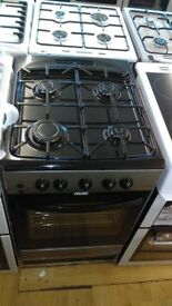 Silver Gas Cooker new Ex dislpay
