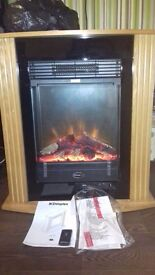 Dimplex MCFP15O 1.5kW Electric Fireplace(living room heater)