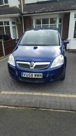 2008 vauxhall zafira exclusive 1.6 petrol damaged repairable