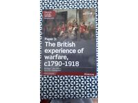 Edexcel A level History The British Experience of Warfare