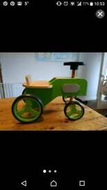 ELC wooden ride in tractor