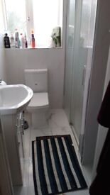 Double room for female in family home