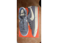 NEW! Nike Blazer Premium Low - Grey Size 10