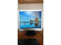 """ViewSonic VA703m-3 17"""" LCD Computer Monitor"""