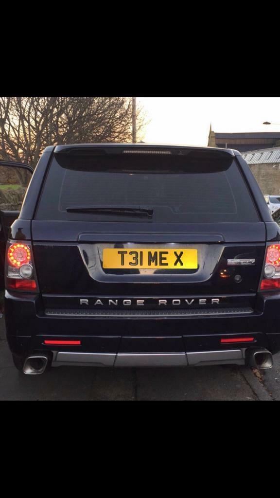 """Private registration number plate """"Tell Me X"""""""