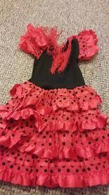 Spanish dance dress