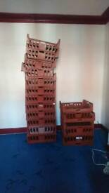 Crate Baskets. 30 pieces