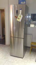 Kenwood fridge freezer stainless steel 8 months old