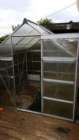 Greenhouse plastic/aluminium