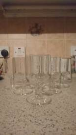 Clairey Cristallerie et Rochere French Crystal Tumbler Glasses