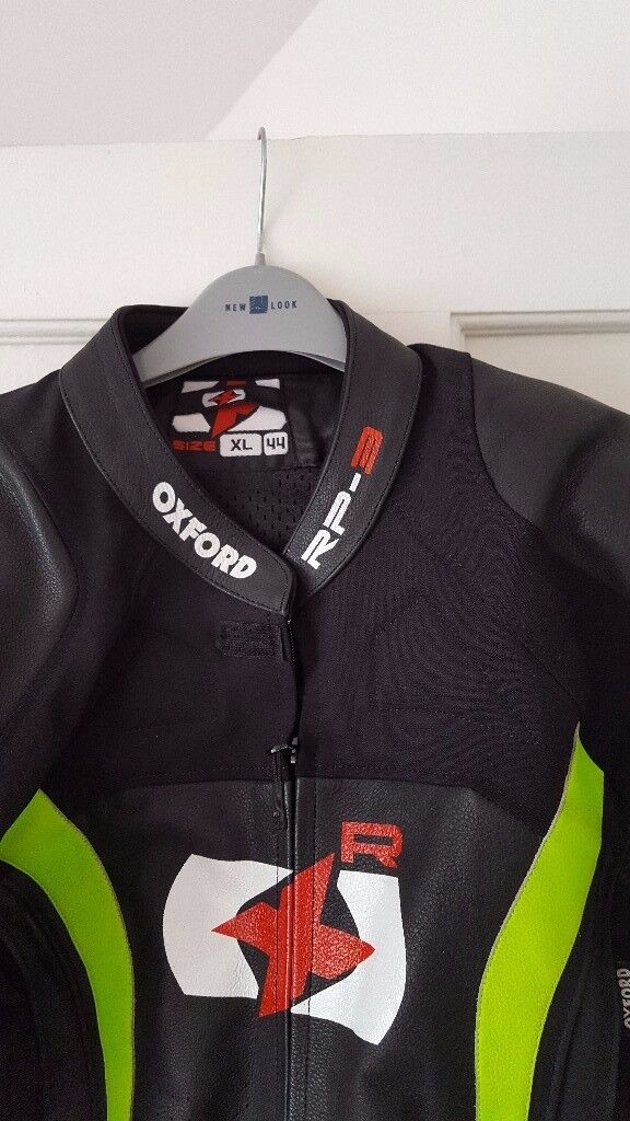 Oxford RP 3 RP J3 Motorcycle Leather Jacket